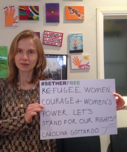 Women for Refugee Women Carolina Gottardo