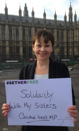 Women for Refugee Women Caroline Lucas