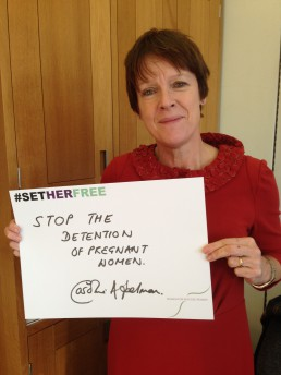 Women for Refugee Women Caroline Spelman MP