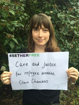 Women for Refugee Women Clare Chambers