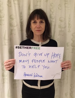 Women for Refugee Women Harriet Walter