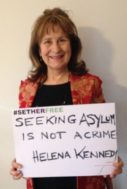 Women for Refugee Women Helena Kennedy