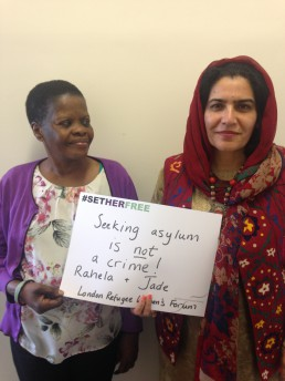 Women for Refugee Women Jade and Rahela