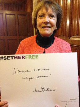 Women for Refugee Women Joan Bakewell