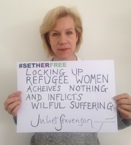 Women for Refugee Women Juliet Stevenson