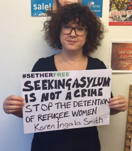 Women for Refugee Women Karen Ingala Smith