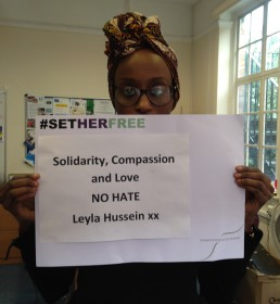 Women for Refugee Women Leyla Hussein