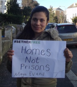 Women for Refugee Women Maya Evans