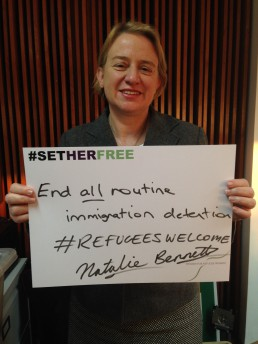 Women for Refugee Women Natalie Bennett