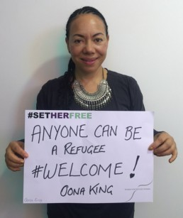 Women for Refugee Women Oona King