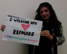 Women for Refugee Women Sajeela Kershi