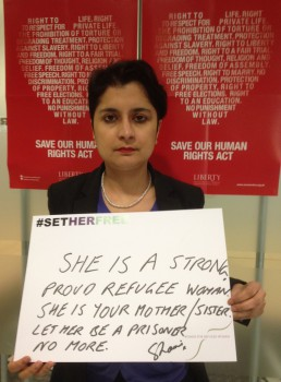 Women for Refugee Women Shami Chakrabarti
