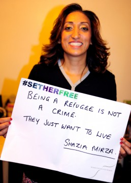 Women for Refugee Women Shazia Mirza