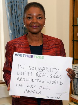 Women for Refugee Women Valerie Amos