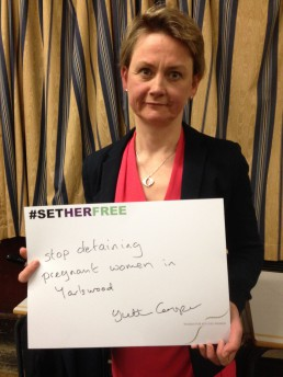 Women for Refugee Women Yvette Cooper MP