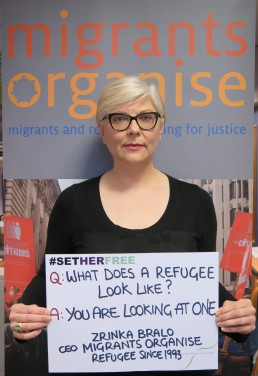 Women for Refugee Women Zrinka Bralo