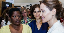 Women for Refugee Women Campaign Angelina Jolie