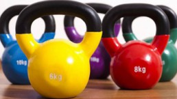 Women for Refugee Women Fundraise Kettlebell Exercise