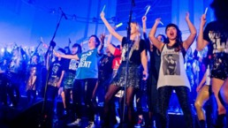 Women for Refugee Women Fundraise LIPS Choir