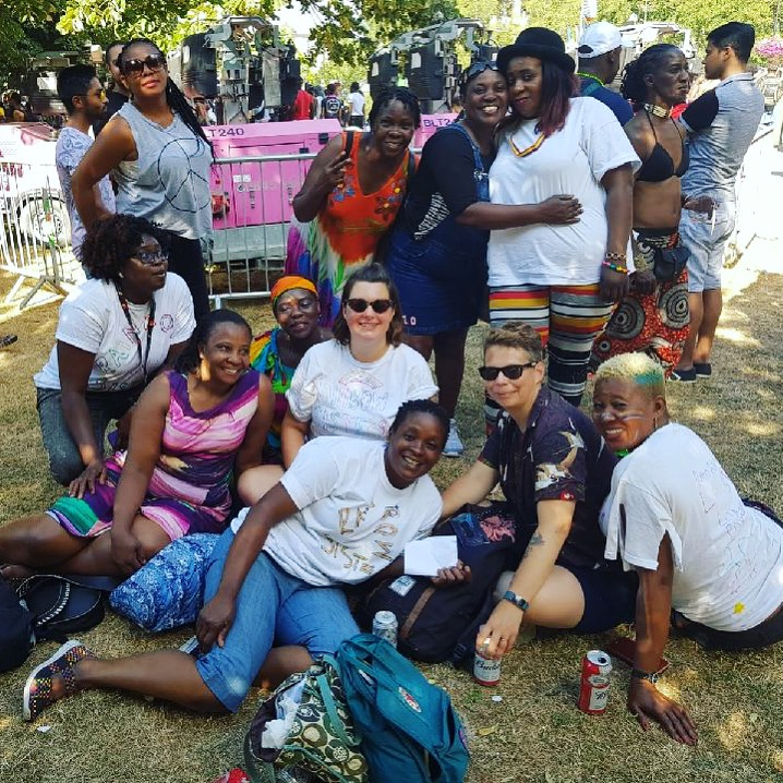 Women for Refugee Women Rainbow Sisters Pride 2018