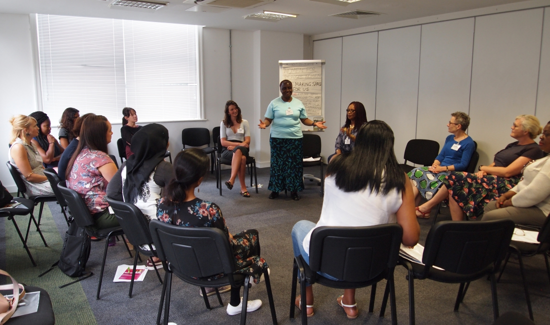 Women for Refugee Women Workshop Charity Sector
