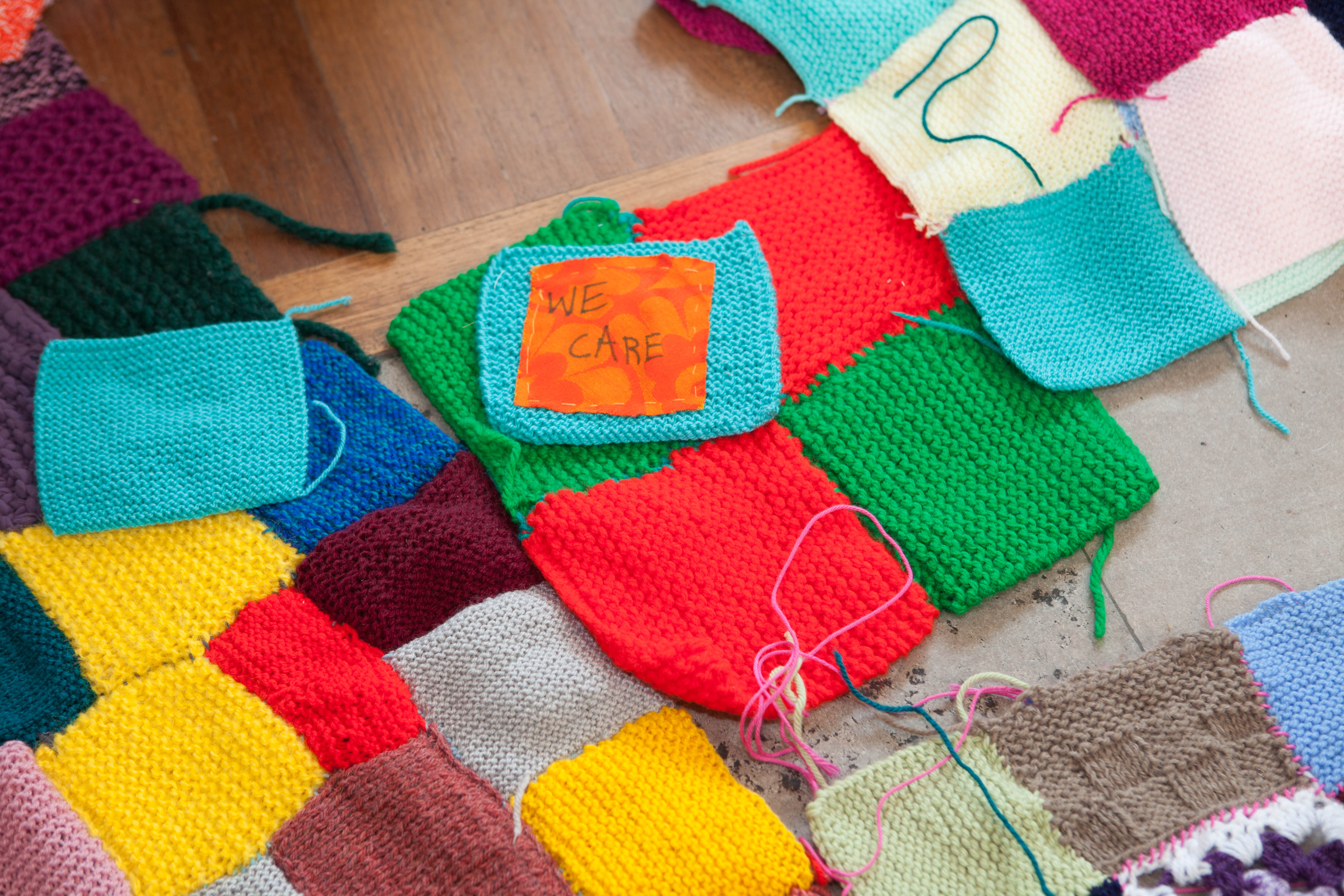 Women for Refugee Women Knitted Together
